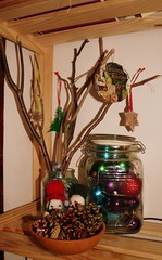Display for my gifted ornaments