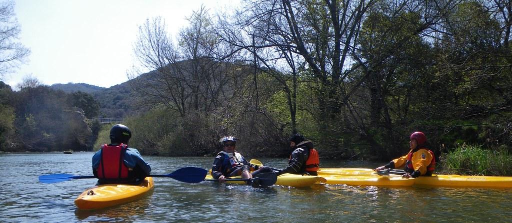 Descenso del Río Arakil en kayak 031
