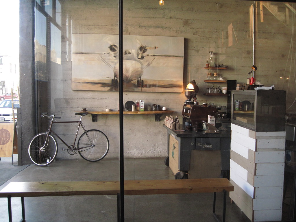 ...or the sightglass is half empty