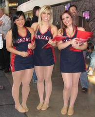 3 hot gonzaga dance team (bulgo125) Tags: college dance team cheerleaders bulldogs gonzaga zags