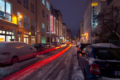 Pure Winter in Berlin III (Dietrich Bojko Photographie) Tags: city winter berlin germany deutschland evening abend cityscape nacht explore frontpage nigth dietrichbojko dietrichbojkophotographie
