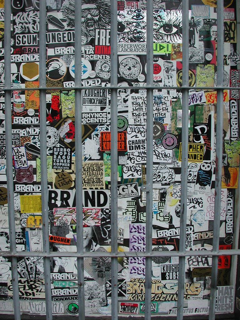 CRUSH, Graffiti, Street Art, Los Angeles, Stickers