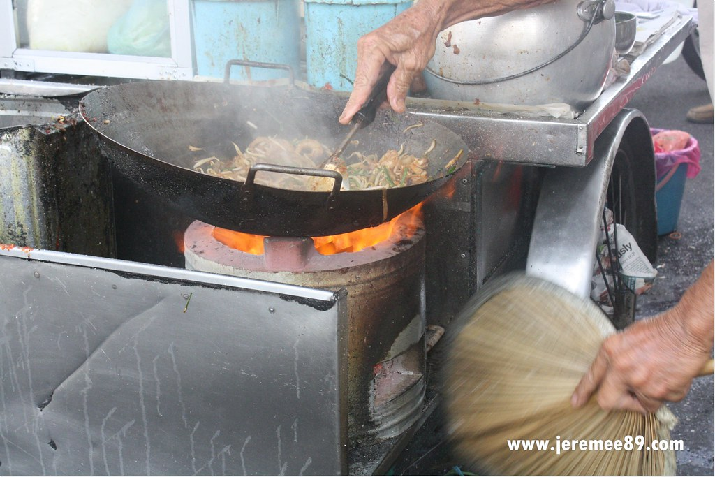 Siam Road- Charcoal Char Koay Teow - Make In Progress