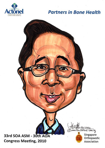 Caricatures for Sanofi-Aventis - 16