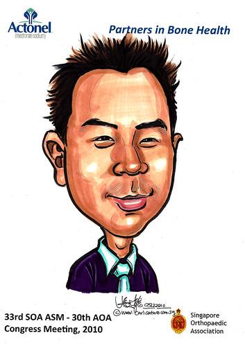 Caricatures for Sanofi-Aventis - 22