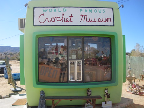 world famous crochet museum - joshua tree