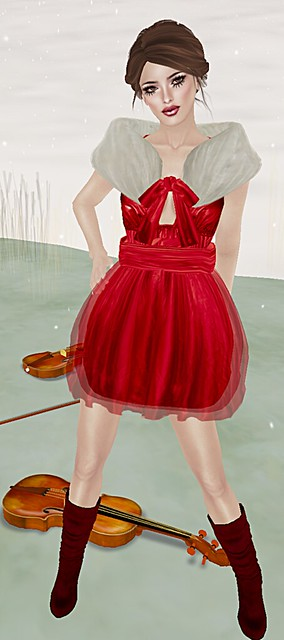 *Fishy Strawberry* Eos Babydoll Christmas Edition