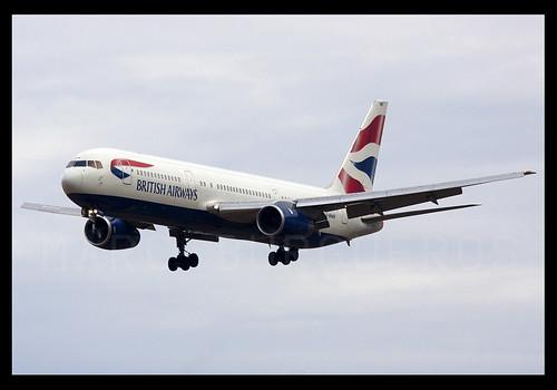 BRITISH B767 G-BNWB