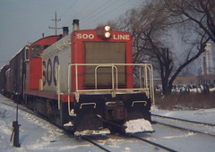 SW1200 (railsr4me) Tags: winter snow trains locomotive sooline switcher emd sw1200 soo2121