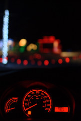 Number five. (BrettVerboom) Tags: christmas lights bokeh mazda d60 quispamsis mazda2