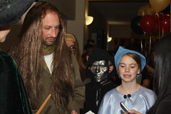 Filch, Death Eater, and Fleur