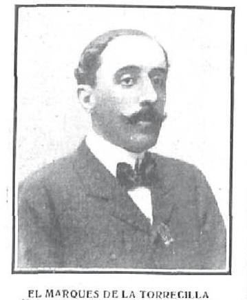 El Marqués de la Torrecilla en 1907. Revista Nuevo Mundo