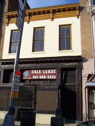 Vacant building allegedly for lease, 406 H Street NE