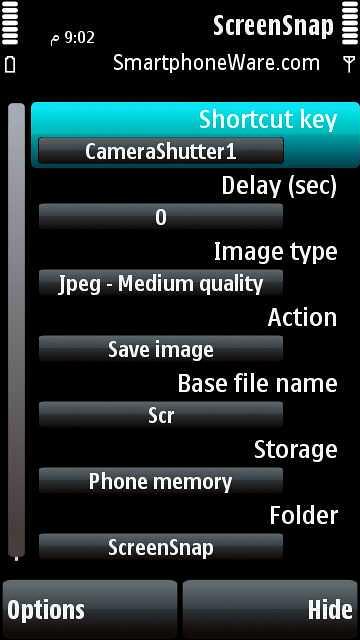برنامج تصوير الشاشة Screensnap