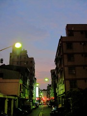 Evening Sky (Jinyuan St.)