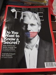 TIME - Julian Assange (isriya) Tags: book julian time cover timemagazine wikileaks assange