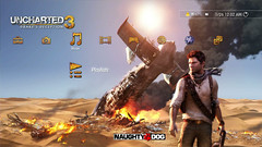 UNCHARTED 3: PS3 static theme