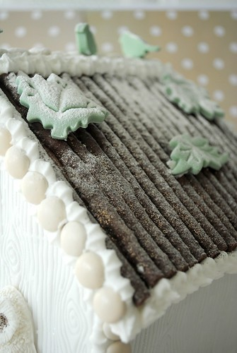 Chocolate Matchstick roof