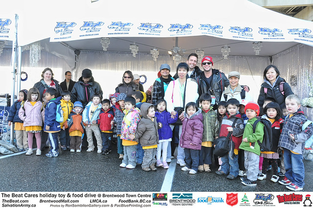 The BEAT CARES holiday food and toy drive at Brentwood Town Centre photos by Ron Sombilon Gallery (180) by Ron Sombilon Gallery