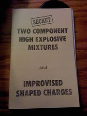 Two Component High Explosive Mixtures & Improvised Shaped Charges, The U.S. Government!