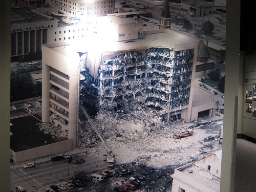 From flickr.com: Oklahoma City Bombing {MID-156178}