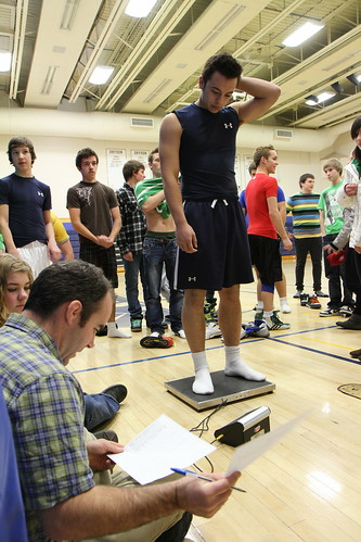 DHS Wrestlers Weigh In