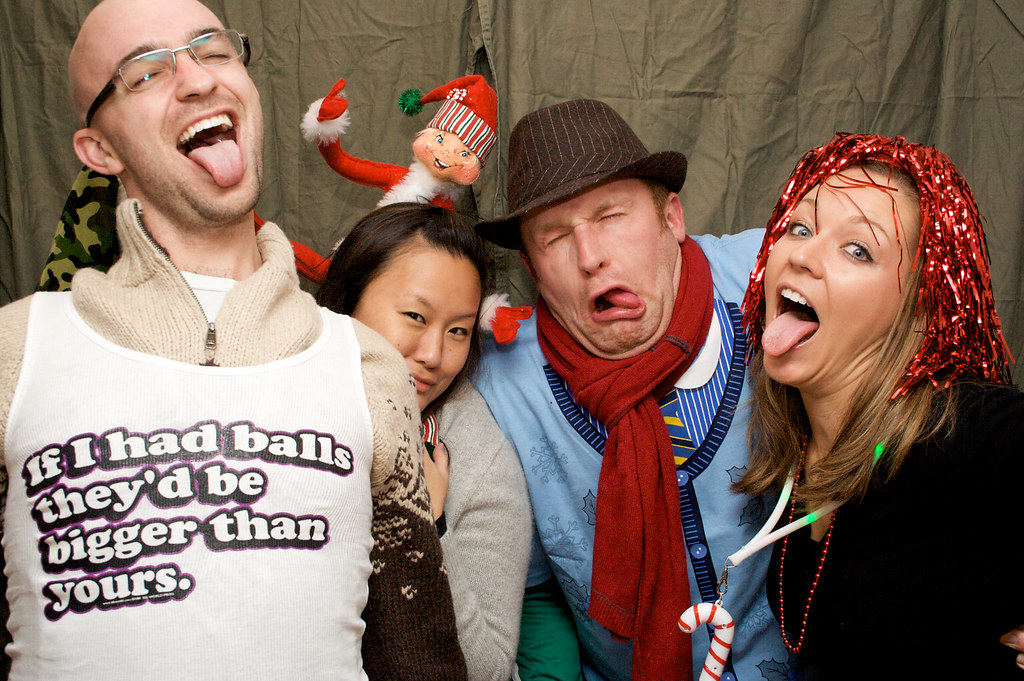 2010 Christmas Party Photo Booth