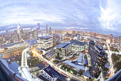 Melbourne City 8 Hour Timelapse (night photographer) Tags: skyline night long exposure cityscape time 8 melbourne hour lapse