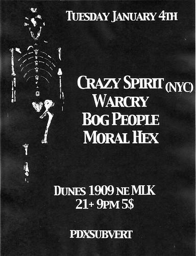 1/4/2011 CrazySpirit/Warcry/BogPeople/MoralHex