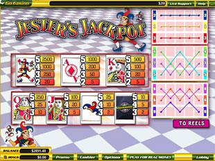 free Jester's Jackpot slot mini symbol
