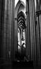Catedral da Sé (De Santis) Tags: white black church rio branco arquitetura riodejaneiro 35mm de nikon janeiro sãopaulo sé preto sp santos igreja da marco praça paulo zero são marcozero praçadasé d3000