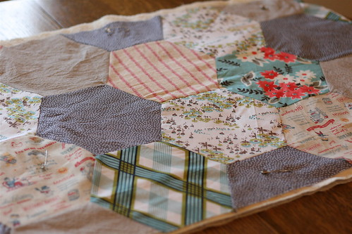 Hex Table Runner