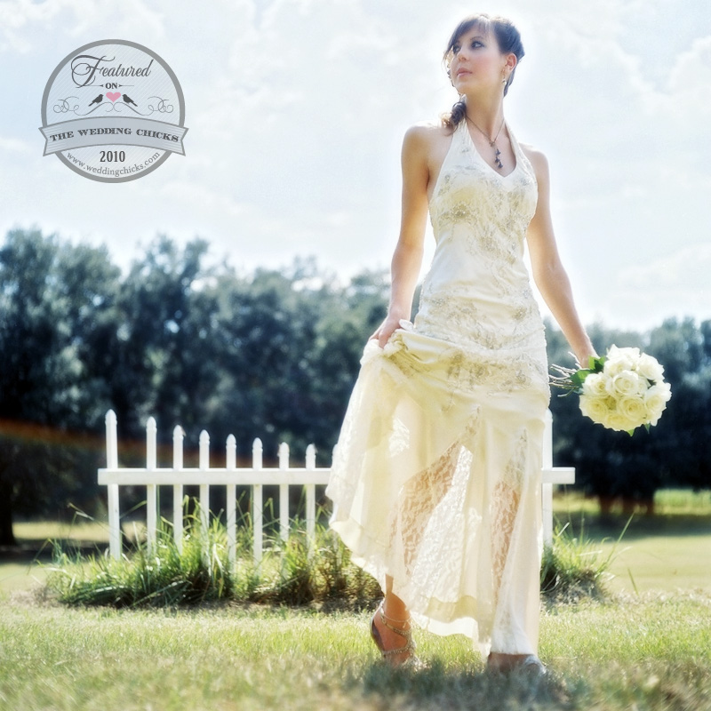 Featured on Wedding Chicks Dot Com 12-20-10