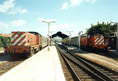 CP 1200 Class 1208 & 1221 - Tunes, Portugal (dwb photos) Tags: portugal diesel railway algarve tunes 1221 1208