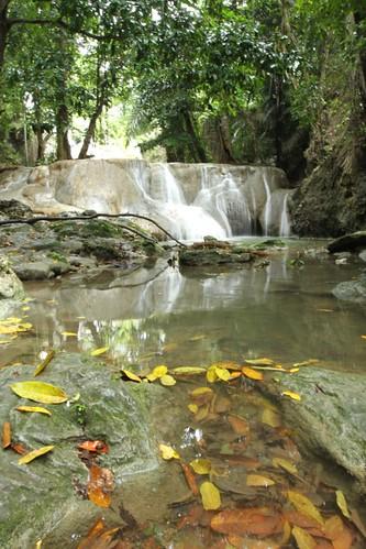 Oenesu, a smallwater fall near Kupang, Indonesia - 08