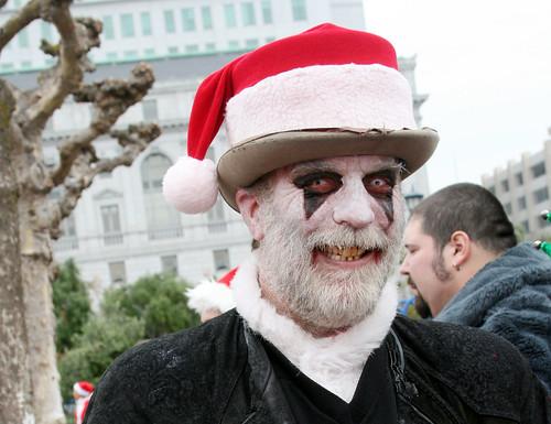 Scary Santa Scrooge