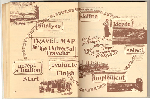 The Universal Traveler, Travel Map
