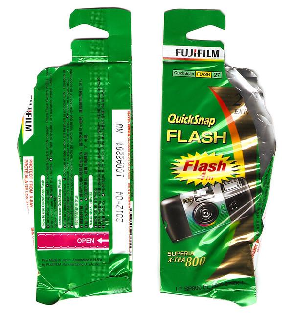Fujifilm QuickSnap Flash Superia X-TRA 800
