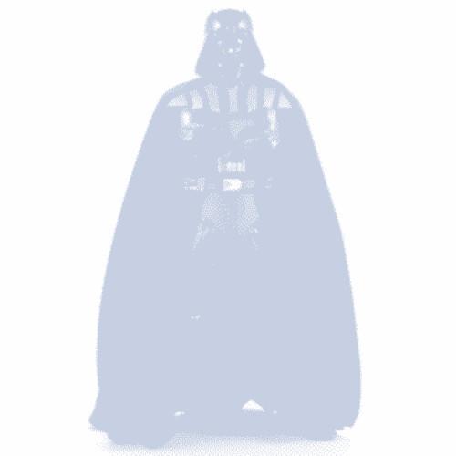 darth Vader Inverted facebook No Profile Picture