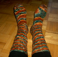 Not So Plain Winter Socks