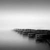 Terminus (Jeff Gaydash) Tags: longexposure blackandwhite water square pier seascapes lakemichigan greatlakes zen minimalism lakescapes nd110 artifakts