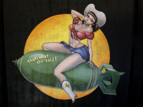 Mustang Sally - 24hr Lemons pinup girl