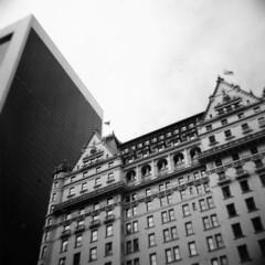 i built my dreams around you (Mattron) Tags: christmas nyc newyorkcity newyork 120 architecture buildings lomo lomography holidays 5thavenue landmark midtown ilfordhp5 diana 400 plazahotel gothamist tribute pogues plasticcamera 9west57thstreet fairytaleinnewyork kartpostal