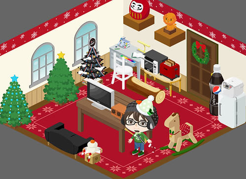 pigg christmas room