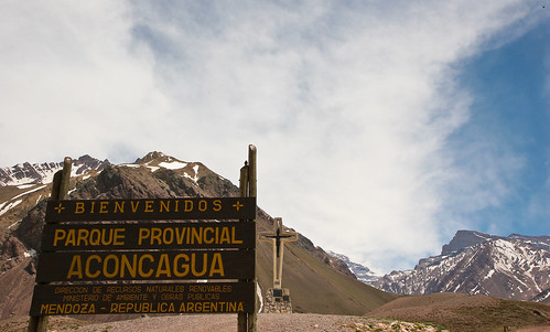 Aconcagua of the various routes