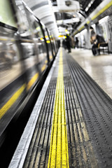 Convergence (HaHa UK) Tags: london tfl underground train station platform londonunderground tube subway yellow bw people movement blur delete delete2 delete3 save delete4 delete5 delete6 delete7 delete8 delete9 delete10