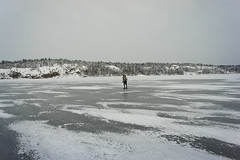 (David Thyberg) Tags: winter snow ice nature sweden stockholm skating skate sverige 2010 saltsjbaden