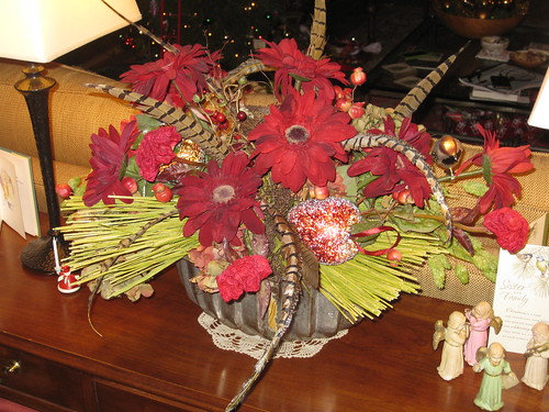 Irene Harnett Floral Design at work!
