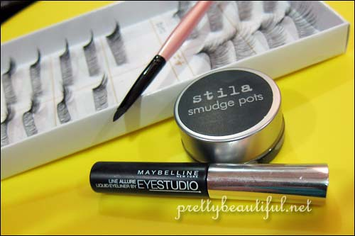 tools to color falsie band