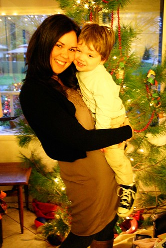 silas & i on Christmas